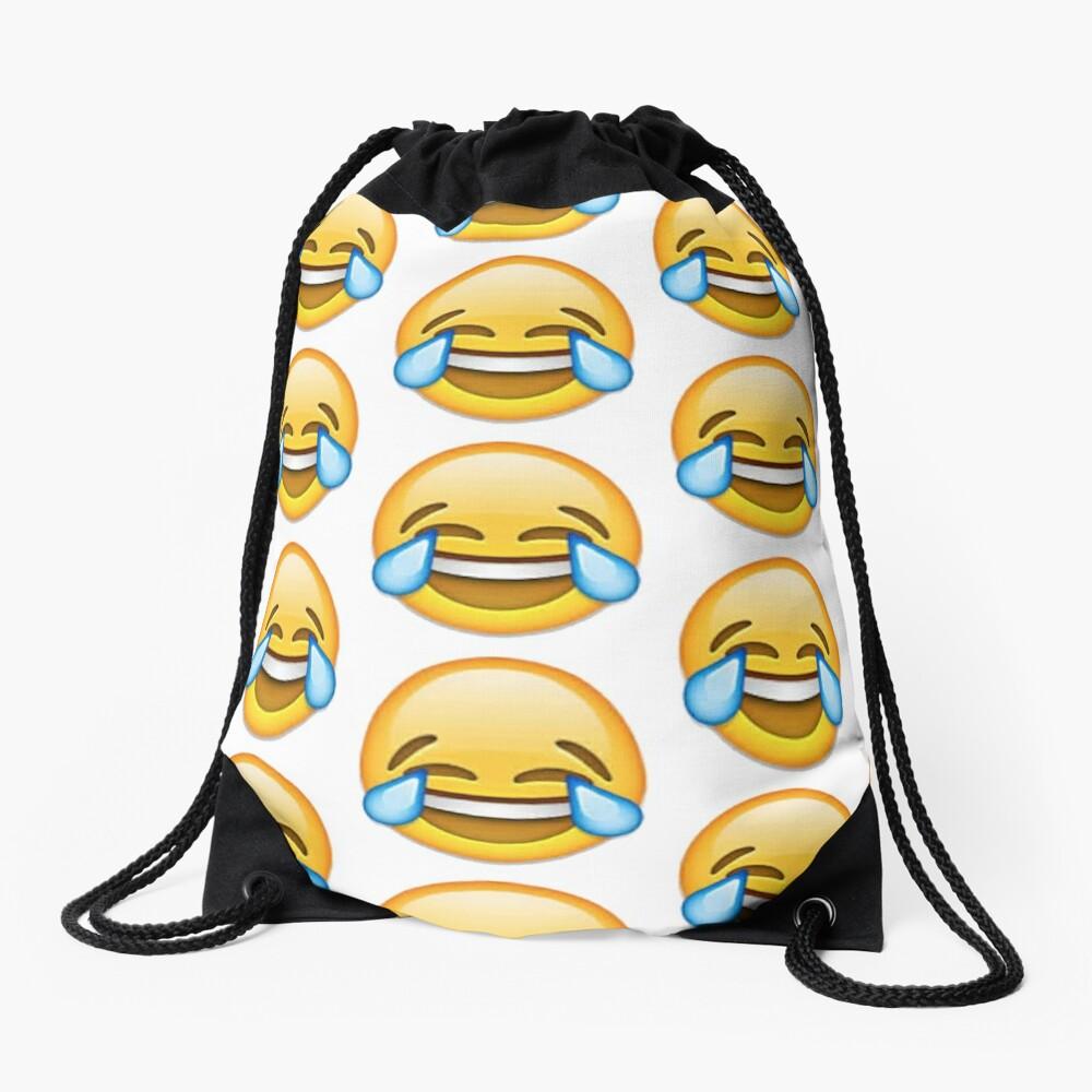 Lachendes Emoji Turnbeutel