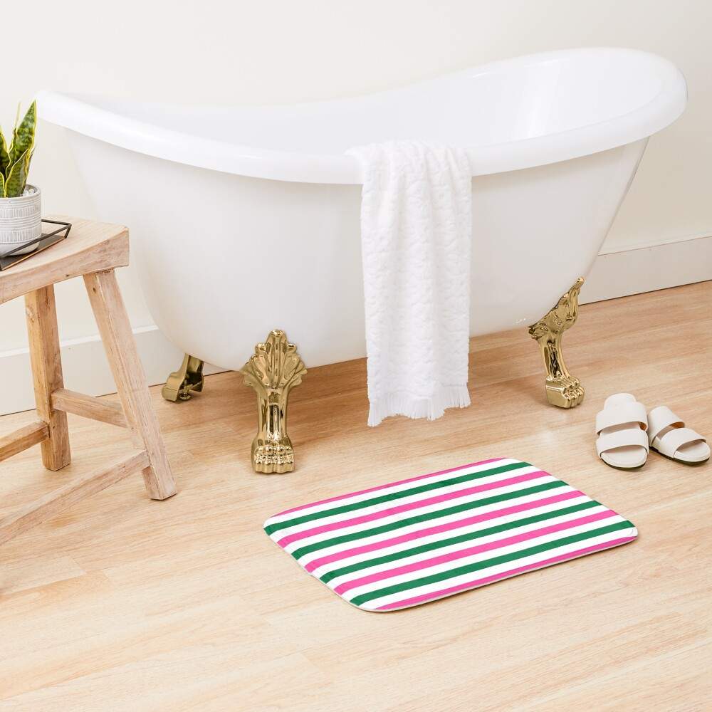 Deckchair Stripes Bath Mat