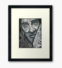 Wisdom of the Age Framed Print