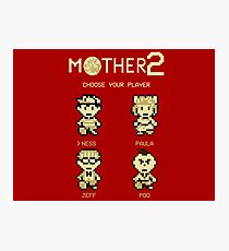Mother 2 or Earthbound Photographic Print