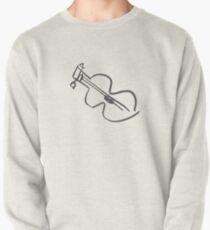 Guitar Pullover Sweatshirt