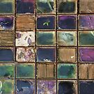 Lewes's Glass Patchwork Quilt by Celia Strainge