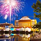 Fireworks at Kennywood Park by carlacardello