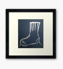 Sock Framed Print