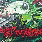 london graffiti by Janis Read-Walters