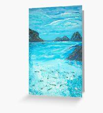 Return to the Blue Lagoon Greeting Card