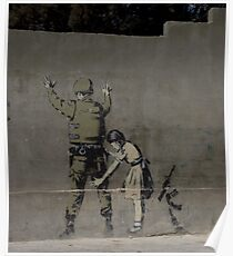 Banksy - The West Bank Poster