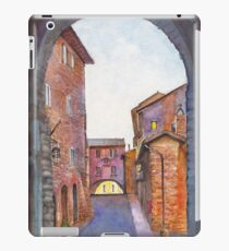 Assisi Street, Umbria, Italy iPad Case/Skin