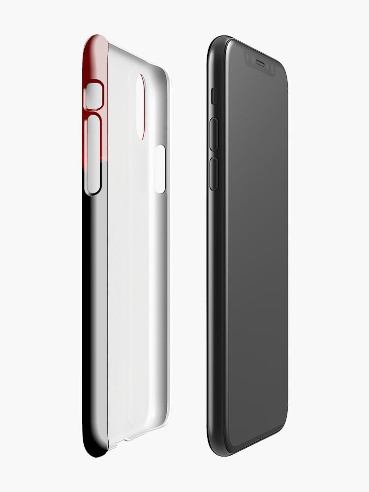 Coque iPhone ''Téléphone Sanguinaire': autre vue