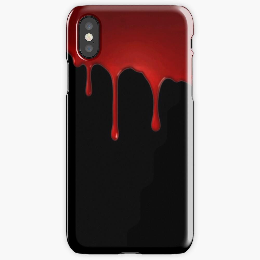 Coque iPhone «Téléphone Sanguinaire»