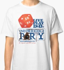 The Incorrigible Party rolls 20s Classic T-Shirt