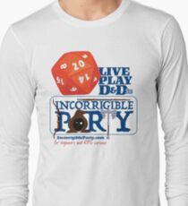 The Incorrigible Party rolls 20s Long Sleeve T-Shirt