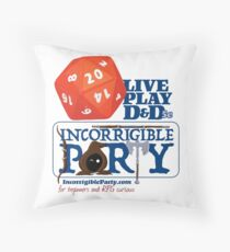 The Incorrigible Party rolls 20s Floor Pillow