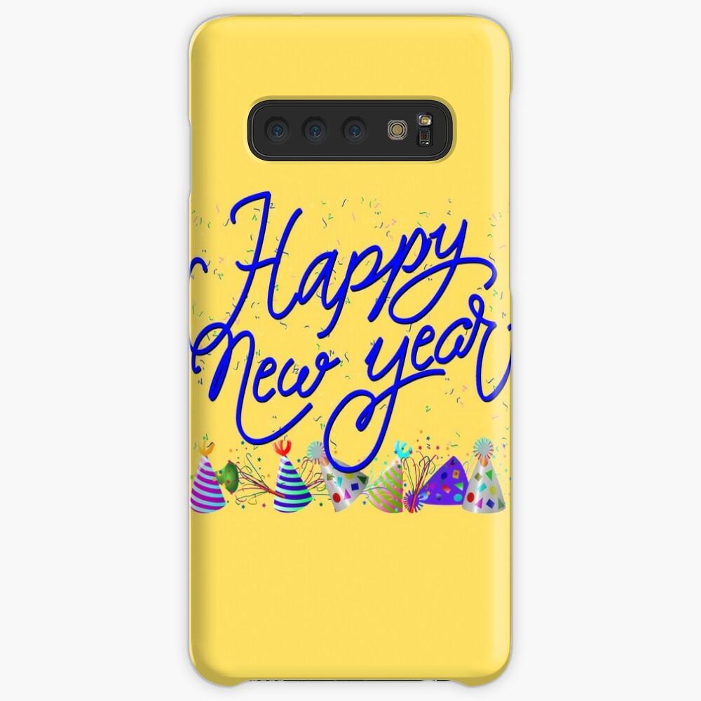 Confetti Happy New Years Celebration Case & Skin for Samsung Galaxy