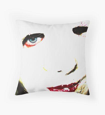 Jane 2 Throw Pillow