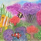 Coral Reef Aquarium by EverIris