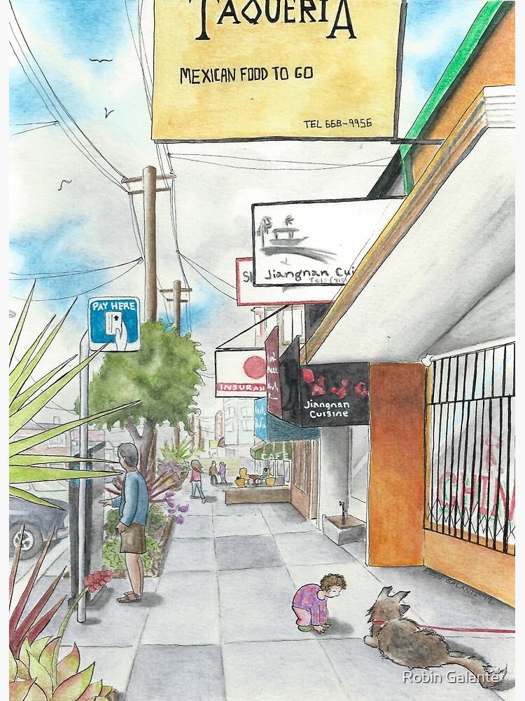 Neighborhood Portrait: Balboa between 35th & 36th Aves by robingalante