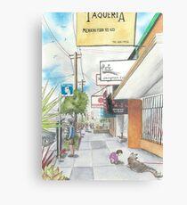 Neighborhood Portrait: Balboa between 35th & 36th Aves Metal Print