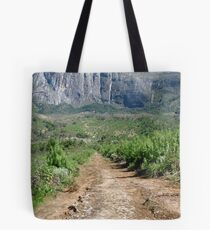 Path to a Cliff-face Tote Bag
