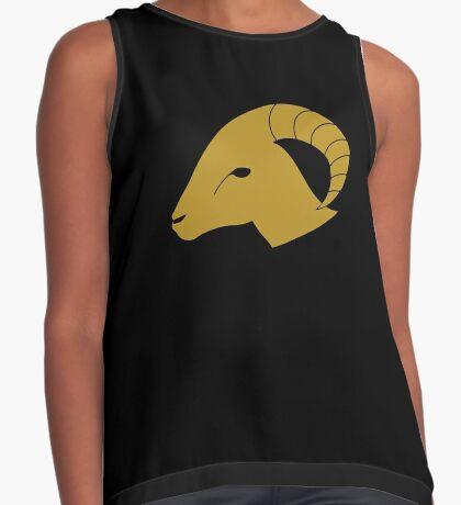 Aries - Zodiac Symbols Sleeveless Top