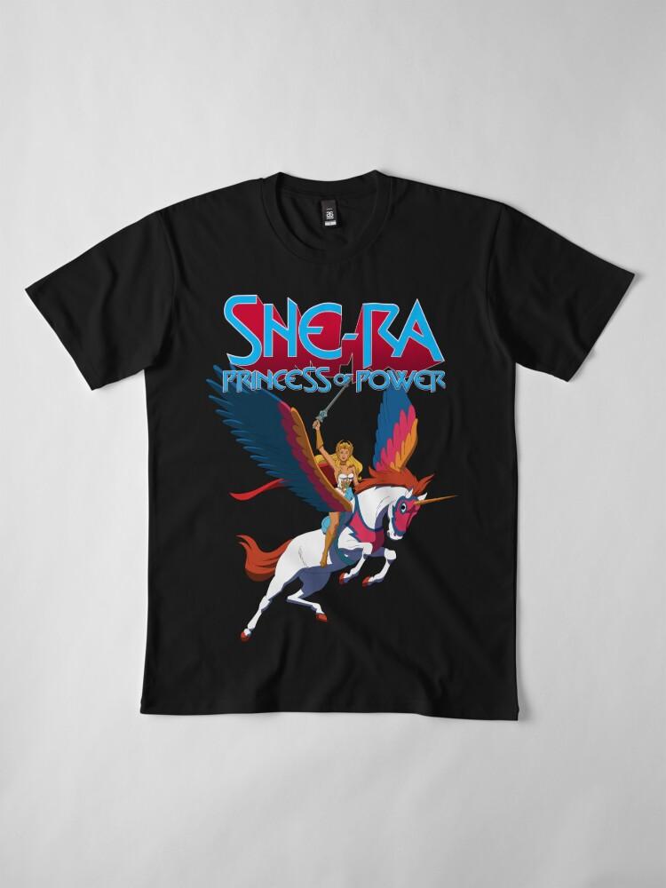 Alternate view of She-Ra Princess Of Power Premium T-Shirt