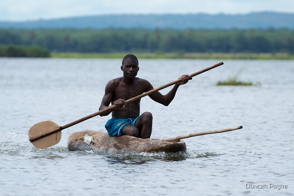 Paddling for a Living by Duncan Payne