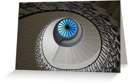 Spiral staircase - Greenwich by BlackhawkRogue