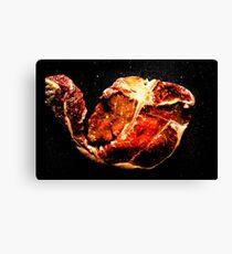 Steak T-Bone Canvas Print