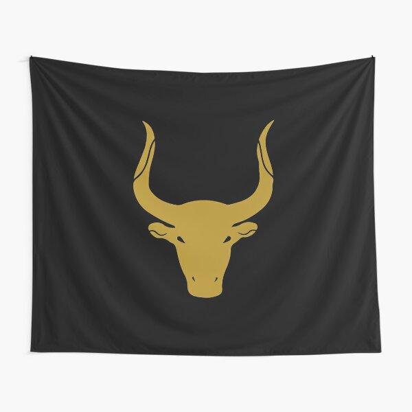 Taurus - Zodiac Symbols Tapestry