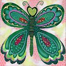 Spotted Butterfly by Janet Broxon