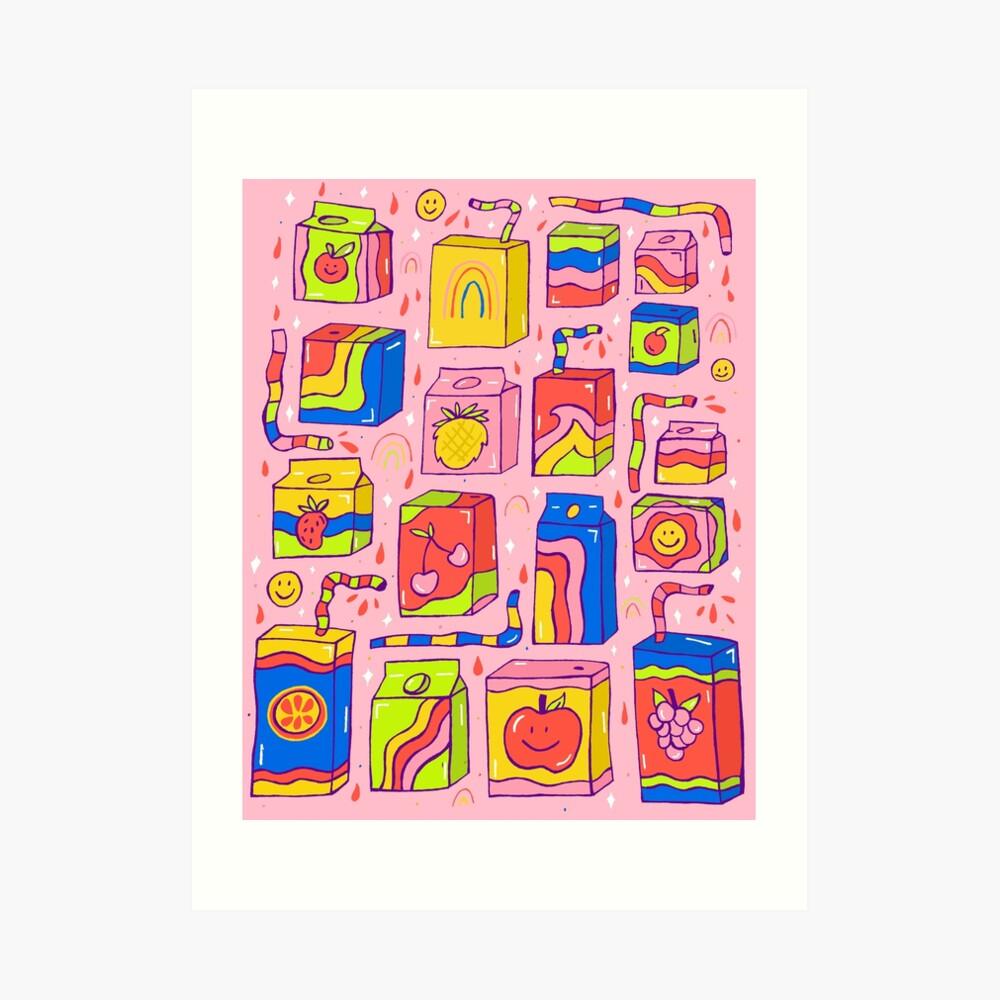 Juice Box Print Art Print