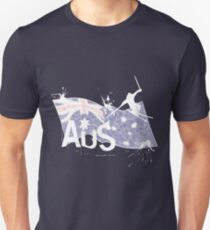 Aus Ski Unisex T-Shirt