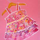 LPD: Little Pink Dress by sunset