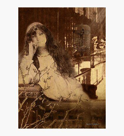 Languishing in the House of Desire II (Art & Poetry) Photographic Print