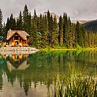 Emerald Lake — Yoho National Park by Karl Lindsay
