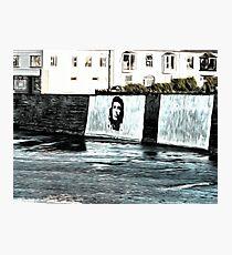 Che Guevara At Kilkee Ireland Photographic Print