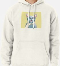 Blue Frenchy Pullover Hoodie