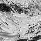 «Mirando hacia abajo desde el cono de agudos» de Charles Kosina
