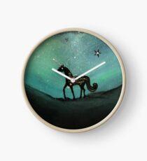 Unicorn Believe In Magic Clock
