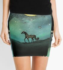 Unicorn Believe In Magic Mini Skirt