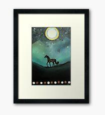 Unicorn Believe In Magic Framed Print