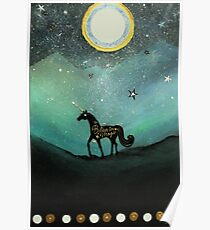 Unicorn Believe In Magic Poster