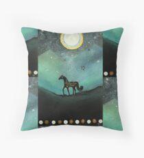 Unicorn Believe In Magic Throw Pillow