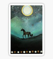 Unicorn Believe In Magic Glossy Sticker