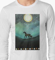 Unicorn Believe In Magic Long Sleeve T-Shirt