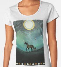 Unicorn Believe In Magic Premium Scoop T-Shirt
