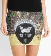 Masquerade Mini Skirt