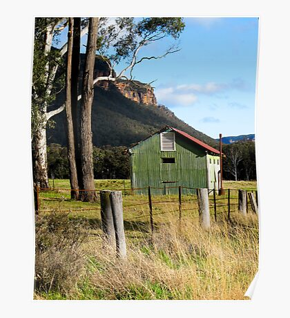 Rustic Megalong Poster