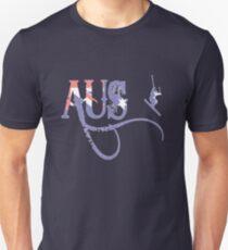 Aus Ski 2 Unisex T-Shirt