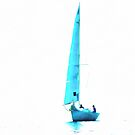 The Blue Yacht by Dorothy Berry-Lound